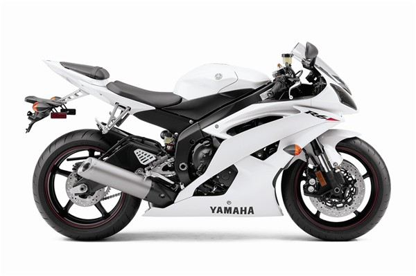 2010 R6 Pearl White - No Yamaha R6 White And Black
